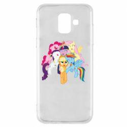 Чехол для Samsung A6 2018 My Little Pony