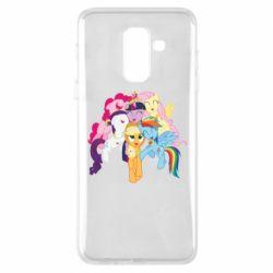 Чехол для Samsung A6+ 2018 My Little Pony