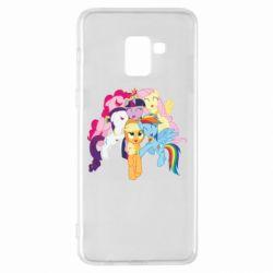 Чехол для Samsung A8+ 2018 My Little Pony