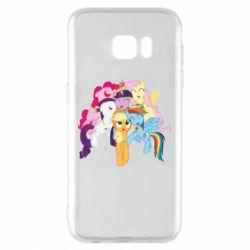 Чехол для Samsung S7 EDGE My Little Pony