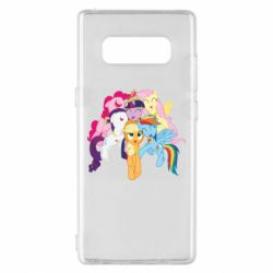 Чехол для Samsung Note 8 My Little Pony