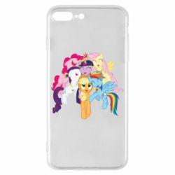 Чехол для iPhone 8 Plus My Little Pony