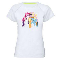 Женская спортивная футболка My Little Pony