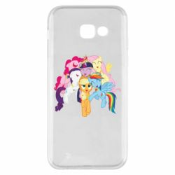 Чехол для Samsung A5 2017 My Little Pony