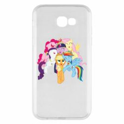 Чехол для Samsung A7 2017 My Little Pony