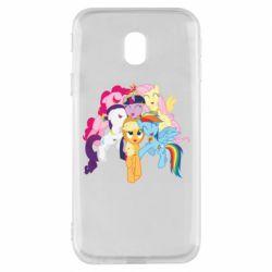 Чехол для Samsung J3 2017 My Little Pony