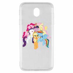 Чехол для Samsung J7 2017 My Little Pony