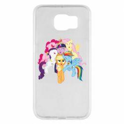 Чехол для Samsung S6 My Little Pony
