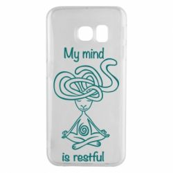 Чохол для Samsung S6 EDGE My mind is restful