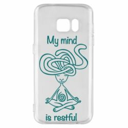 Чохол для Samsung S7 My mind is restful