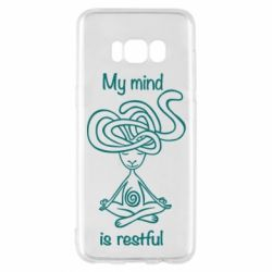 Чохол для Samsung S8 My mind is restful