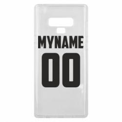 Чохол для Samsung Note 9 My name American