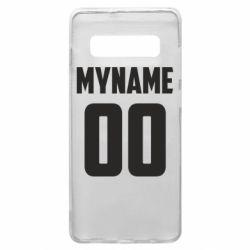 Чохол для Samsung S10+ My name American