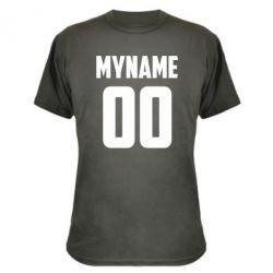 Камуфляжна футболка My name American