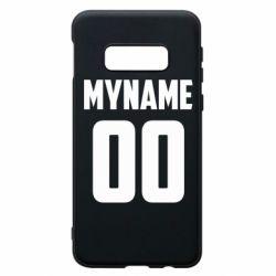 Чохол для Samsung S10e My name American