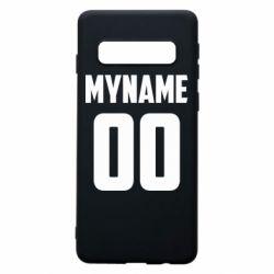 Чохол для Samsung S10 My name American