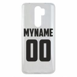 Чохол для Xiaomi Redmi Note 8 Pro My name American