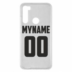 Чохол для Xiaomi Redmi Note 8 My name American