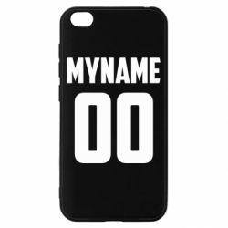 Чохол для Xiaomi Redmi Go My name American