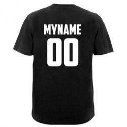 Чоловіча футболка з V-подібним вирізом My name American