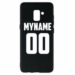 Чохол для Samsung A8+ 2018 My name American