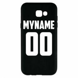 Чохол для Samsung A7 2017 My name American