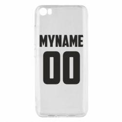 Чохол для Xiaomi Mi5/Mi5 Pro My name American