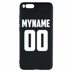 Чохол для Xiaomi Mi Note 3 My name American