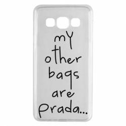 Чохол для Samsung A3 2015 My other bags are prada