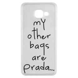 Чохол для Samsung A3 2016 My other bags are prada