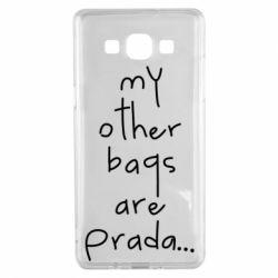 Чохол для Samsung A5 2015 My other bags are prada