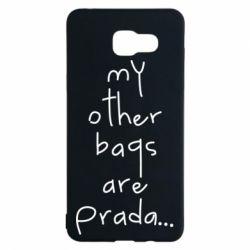 Чохол для Samsung A5 2016 My other bags are prada