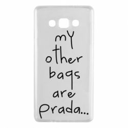 Чохол для Samsung A7 2015 My other bags are prada