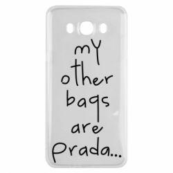 Чохол для Samsung J7 2016 My other bags are prada