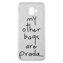 Чохол для Samsung J6 Plus 2018 My other bags are prada