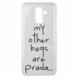 Чохол для Samsung J8 2018 My other bags are prada