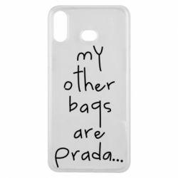 Чохол для Samsung A6s My other bags are prada