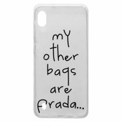 Чохол для Samsung A10 My other bags are prada