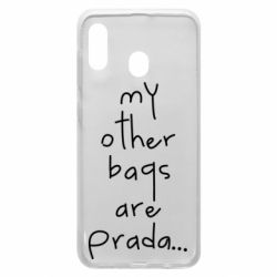 Чохол для Samsung A20 My other bags are prada