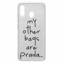 Чохол для Samsung A30 My other bags are prada