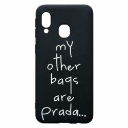 Чохол для Samsung A40 My other bags are prada