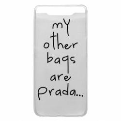 Чохол для Samsung A80 My other bags are prada