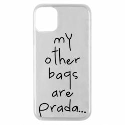 Чохол для iPhone 11 Pro My other bags are prada