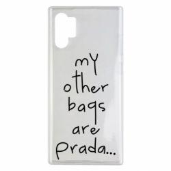 Чохол для Samsung Note 10 Plus My other bags are prada
