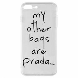 Чохол для iPhone 8 Plus My other bags are prada
