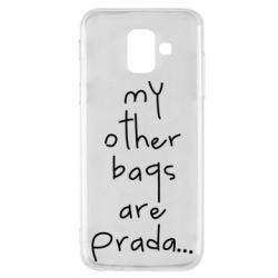 Чохол для Samsung A6 2018 My other bags are prada