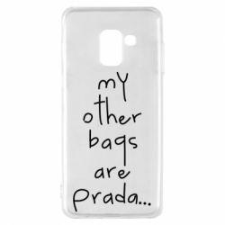 Чохол для Samsung A8 2018 My other bags are prada