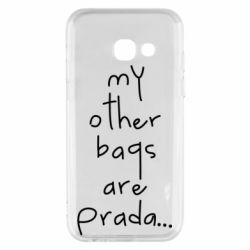 Чохол для Samsung A3 2017 My other bags are prada