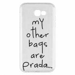 Чохол для Samsung A7 2017 My other bags are prada