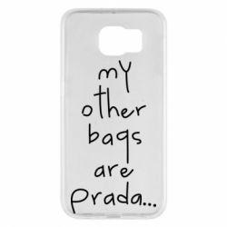 Чохол для Samsung S6 My other bags are prada